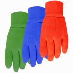 Kids Cotton Jersey Glove, Knit Cuff, Assorted