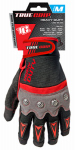 High-Performance Work Gloves, Touchscreen Compatible, Red, Gray & Black, Medium