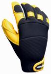 Goatskin Hybrid Gloves, Polyurethane Reinforced, XL