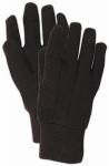 Jersey Gloves, Brown, Size L, 12-Pk.