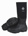 Arctic Sport High Boots, Black, Unisex Size 12 Men/13 Women