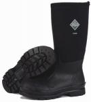 Chore High Work Boots, Black, Size 13 Men