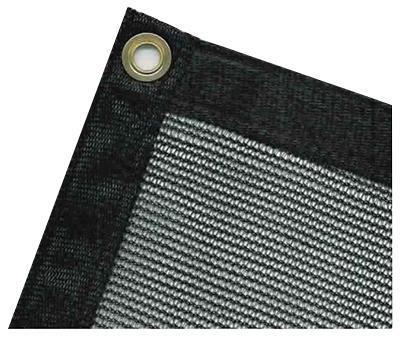 Master Tradesman 10 Ft X 12 Ft Black Polyethylene Mesh
