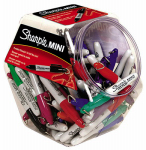 Mini Permanent Markers, Assorted Colors, 72-Piece, Must Purchase in Quantities of 72
