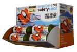Extension Cord Safety Seal Lock, Orange
