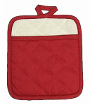 7x8 RED Pot Mitt, Must Purchase in Quantities of 3
