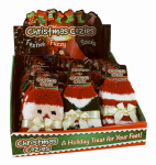 Christmas Cozy Fuzzy Socks, Assorted, Must Purchase in Quantities of 24