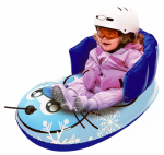 Kids' Pull Sled, Inflatable, Blue Seal, 33-In.