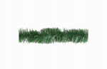 Garland Tie, Green PVC, 12-In., 10-Ct.