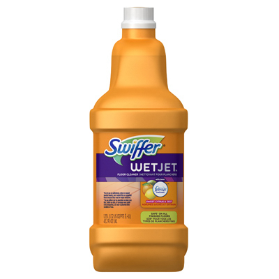Swiffer 125l Wetjet Solution With Dawn 91228