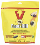 Fast Kill Mouse Bait Station + 20 Refills