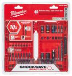 Shockwave Drill & Driver Bit Set, 40-Pc.