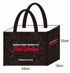 Laminated Reusable Shopping Bag, Must Purchase in Quantities of 50