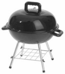 Portable Kettle Grill, 151-Sq. In., 14-In.