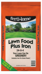 Lawn Food Plus Iron, 24-0-4, 40-Lbs.