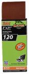 Sanding Belts, Aluminum Oxide, 120-Grit, 3 x 21-In., 5-Pk.