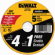 Metal/Stainless Cutting Wheel, 4.5 x .045-In., 5-Pack