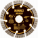 Diamond Saw Blade, Dry Cutting, Segmented, 4.5-In.