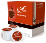 K-Cup Coffee, Eight O'Clock Original, 18-Ct.