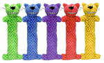 Cat Toy, Loofa Cat Kicker, Assorted, 10-In.