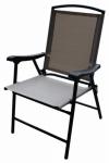 Folding Sling Chair, Tan