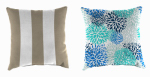 Toss Pillow, Polyester, Assorted, 16-In., Must Purchase in Quantities of 10