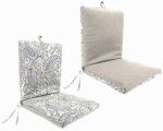 Clean Look Universal Chair Cushion, Reversible, Must Purchase in Quantities of 4