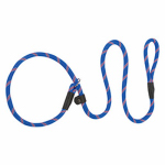 Terrain Dog Slip Leash, Orange & Blue Braided Nylon, 1/2-In. x 4-Ft.