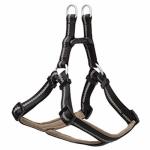 Terrain Dog Harness, Adjustable, Black Neoprine, Small