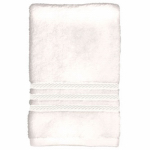 Bath Towel, White Cotton, 27 x 54-In., Must Purchase in Quantities of 4
