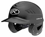 Cool Flo Batting Helmet, Black