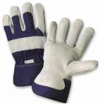 Men's Split Cowhide Leather Palm Gloves, Large