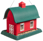 Red Barn Bird Feeder, Large
