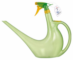 Watering Can / Spray Bottle in 1, Green, 40-oz.