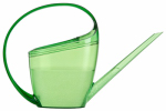 Watering Can, Loop Handle, Translucent Green Plastic, 47-oz.