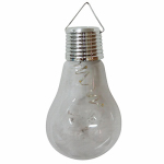 Hanging Solar Light Bulb, 5-In., Must Purchase in Quantities of 9