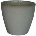 """8"""" WHT Kurv Planter, Must Purchase in Quantities of 6"""