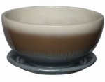 "12""BLU Cor Bowl Planter, Must Purchase in Quantities of 4"