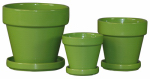 "5.5"" GREEN STD Pot, Must Purchase in Quantities of 6"