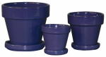 """5.5"""" PURPLE STD Pot, Must Purchase in Quantities of 6"""
