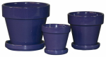 "7.5"" PURPLE STD Pot, Must Purchase in Quantities of 4"