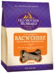Dog Treats, Bac'n'Cheeze Biscuits, Large, 3.5-Lbs.
