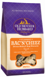 Dog Treats, Bac'n'Cheez Biscuits, Small, 20-oz.