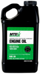 Lawn Mower Engine Oil, 4-Cycle, SAE30, 48-oz.