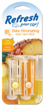 Car Refresh Vent Stick, Pina Colada/Mango Mandarin, 4-Pk.
