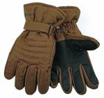 Ski Gloves, Brown Duck, Large