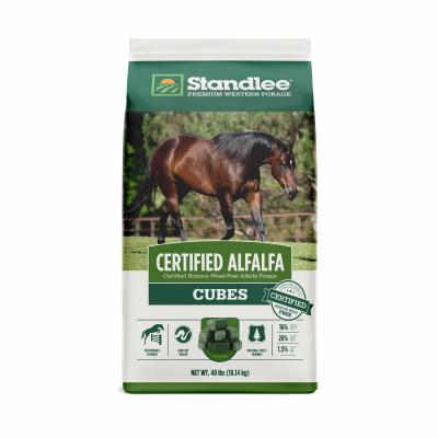 Standlee Hay 40 Lb  Cer Alfalfa Cubes 1180-40111-0-0