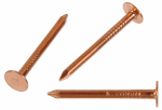 Copper Slating Nails, 1.5-In. x 11, 6-oz.