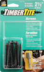 TimberTite Pressure-Treated Lumber Screws, 1/4 x 2.5-In., 10-Pk.