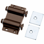 Cabinet Latch, Double Touch, Brown